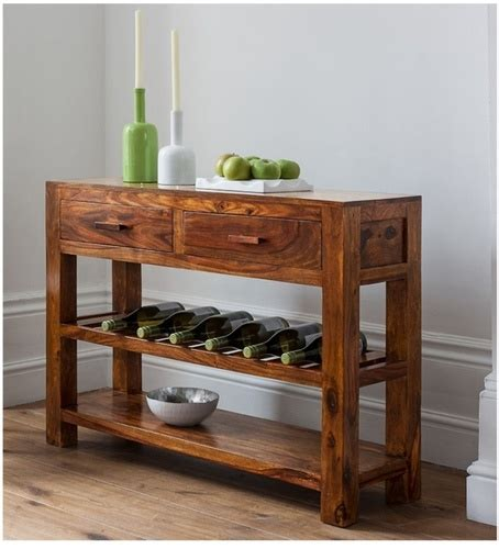 pepperfry and wine rack table console table with