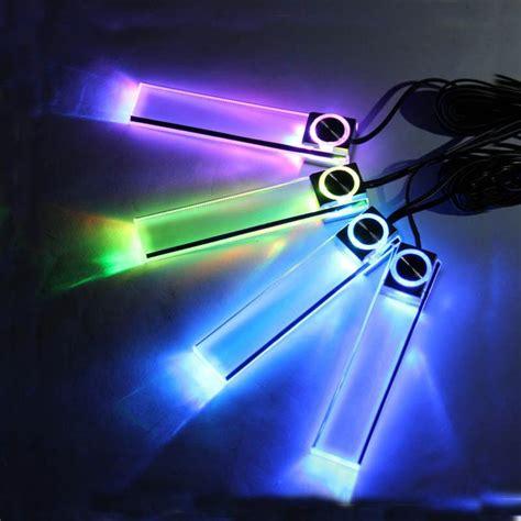 Decorative Led Lights In Car best 4 led car interior light decorative atmosphere l