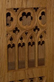 what is the meaning behind the gothic trefoil historic st thomas guild medieval woodworking furniture and