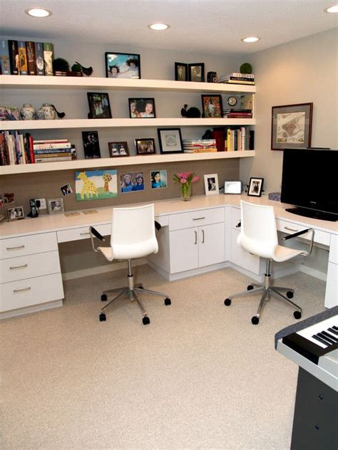 25 best ideas about office shelving on wall