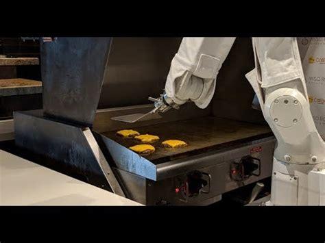 flippy  burger flipping robot  caliburger pasadena