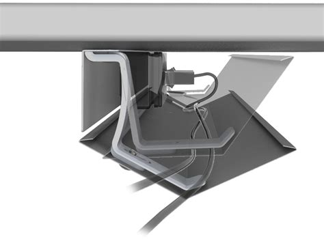 desk cable management tray under desk cable tray under desk cable holder view