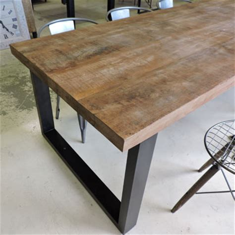 Pietement Metal Table by Les Tables