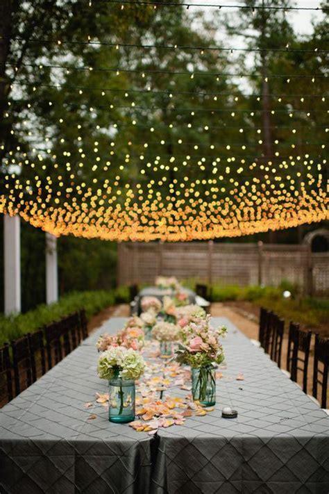 30 New Ideas for Your Rustic Outdoor Wedding    Garden weddings, Romantic weddings and Lightning