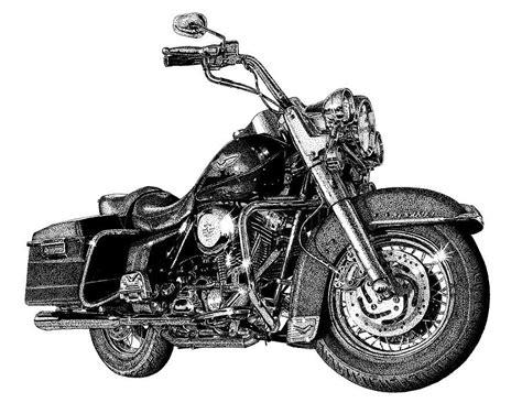 Harley Davidson Drawings by Harley Davidson Road King Drawing Harley Davidson