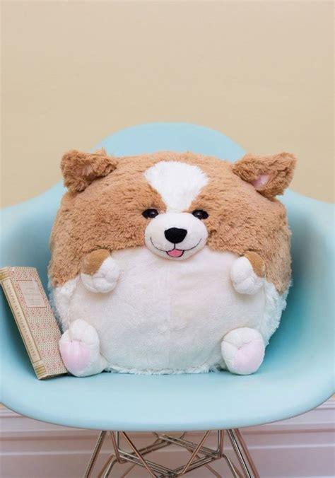 cute corgi plush toy interior decoration cute corgi plush