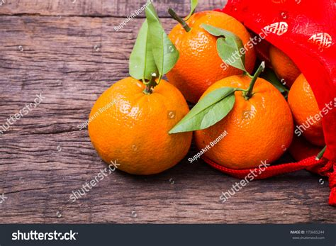 new year oranges bag new year decoration mandarine oranges in