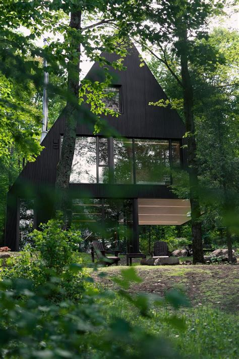 Contemporary Cabin 25 best ideas about contemporary cabin on pinterest