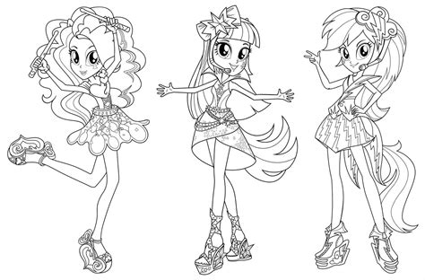 my little pony rainbow rocks coloring pages applejack my little pony equestria girl twilight sparkle coloring