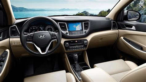 hyundai tucson interior 2017 2017 hyundai tucson gets subtle interior changes launch