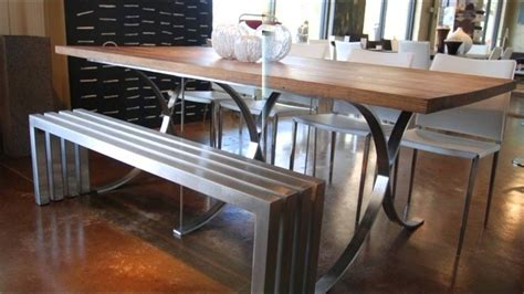 cool table l 12 cool dining table ideas with benches youtube