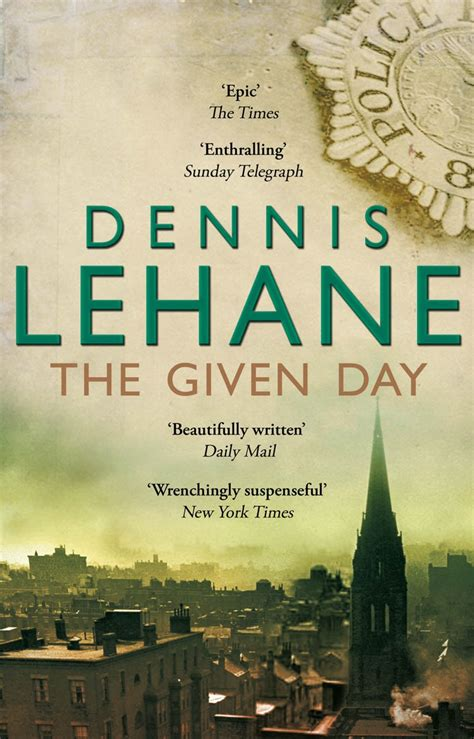 the given day the given day by dennis lehane penguin books australia