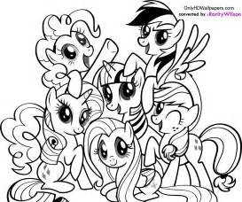 coloring pages of my pony my pony coloring pages team colors