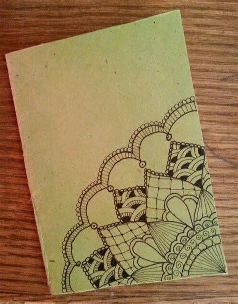 doodle notebook ideas diy notebook in rice paper zentangle design doodles