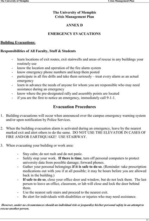 crisis management plan template crisis management plan template for free page