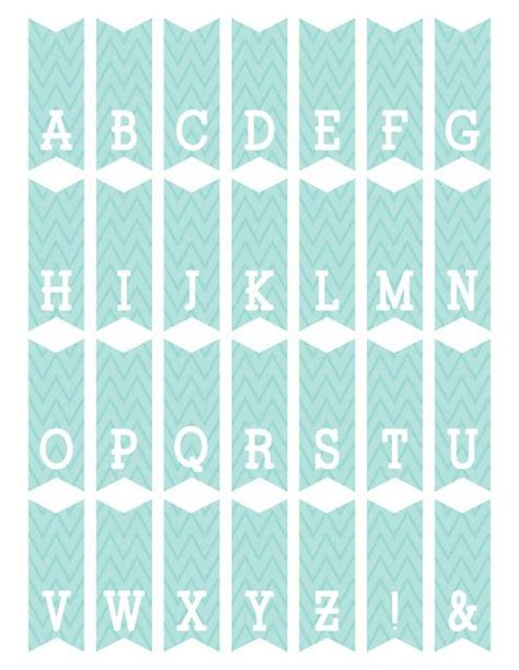 free printable alphabet flag banner 235 best images about free mini cake bunting printable on