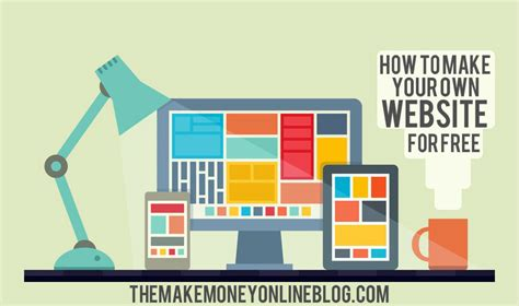 make your own website how to make your own website for free