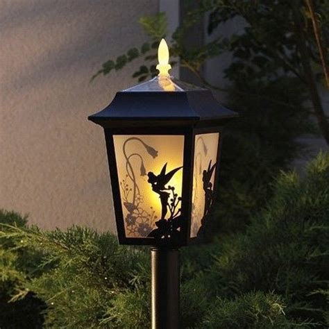 new disney tinker bell solar light l lantern garden