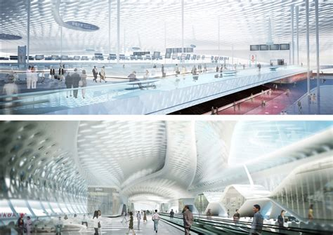 air max terminal 3 at shenzhen airport by studio fuksas shenzhen bao an international airport terminal 3 arup