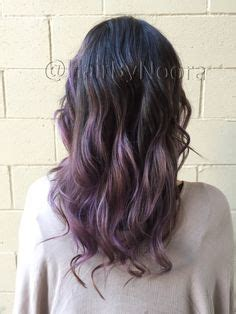 Color On Top On Pinterest Balayage Purple Hair And Ombre