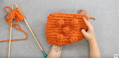 how to knit a bobble how to knit a bobble stitch allfreeknitting