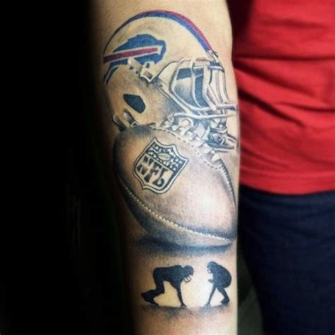 football helmet tattoo designs 21 football ideas for guys styleoholic