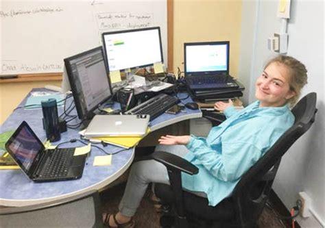 ithaca college its help desk caitlin taber computer ninja its blog