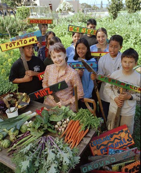 Alice Waters School Vegetable Garden