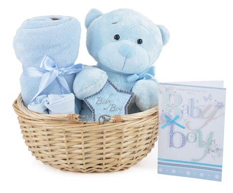 Gift From Baby - gorgeous baby boy gift basket