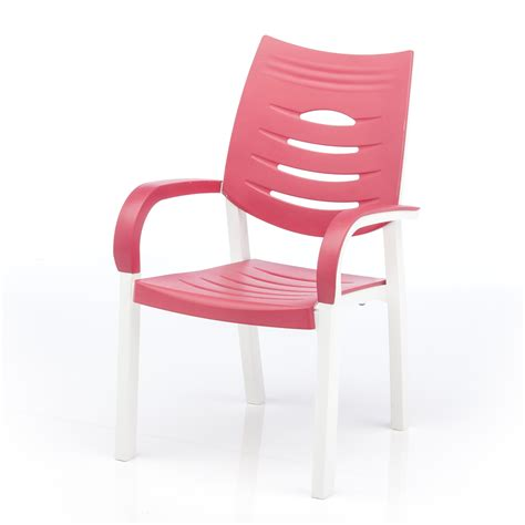 happy resin chair coral patio