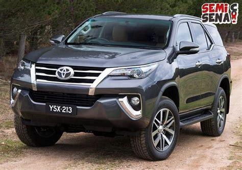 Modul Untuk Mobil Fortuner Toyota harga toyota fortuner 2017 review spesifikasi gambar