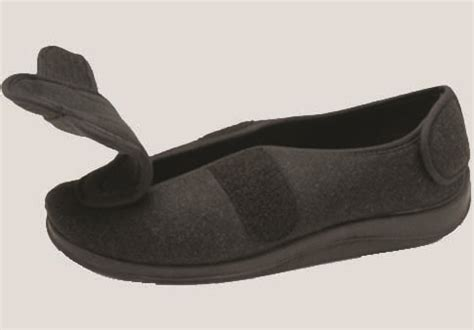 shoes for swelling edema slipper shoe