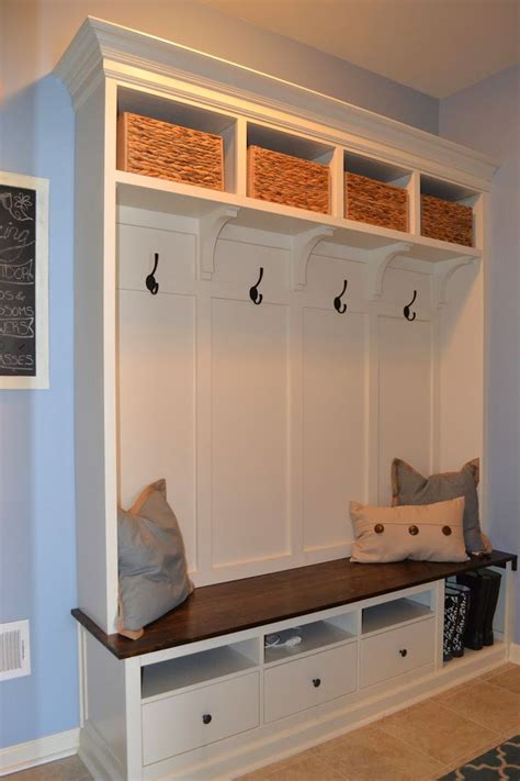 ikea hack mudroom studio design gallery best design