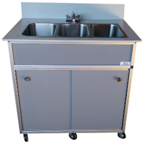 shoo bowl portable self contained sink three compartment portable sink portable sink unit