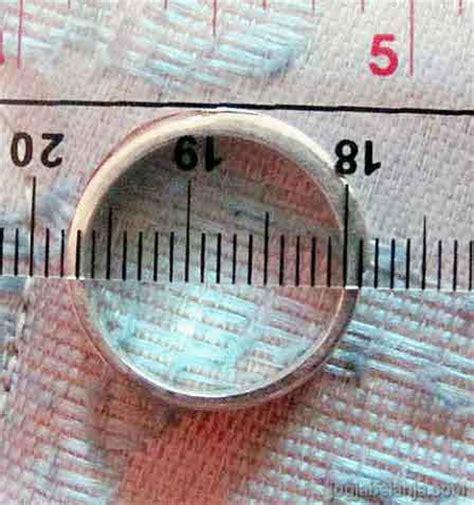 Ring Ukuran Size Jari cara mudah mengukur ukuran cincin agar sesuai dengan jari anda