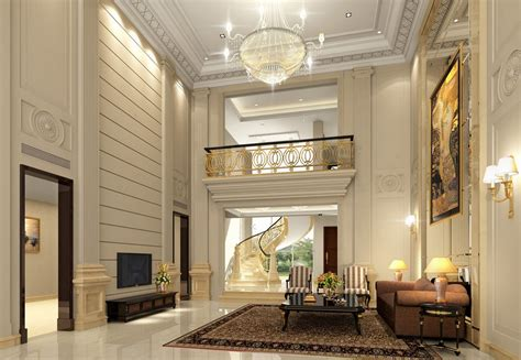 design living room layout luxury villa living room design layout image 3d house