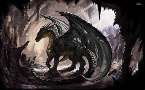 black dragon cave dragon in the cave wallpaper