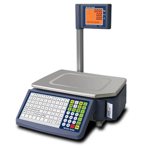 Timbangan Digital Supermarket jual mettler toledo scale type bcom labeling scale without