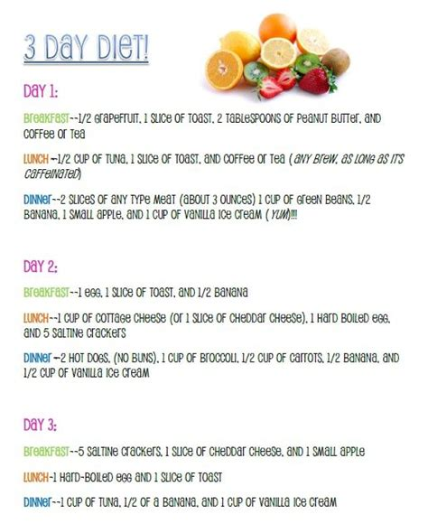 Lose 10 Pounds 3 Days Detox by Diet Lose Up To Ten Pounds In Three Days