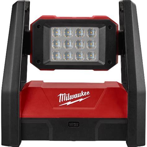 milwaukee lights m18 rover led dual power flood light milwaukee tool