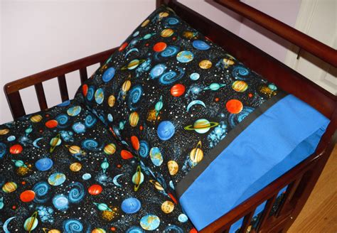 Outer Space Crib Bedding Outer Space Planets Baby Toddler Bedding Fitted Sheet With