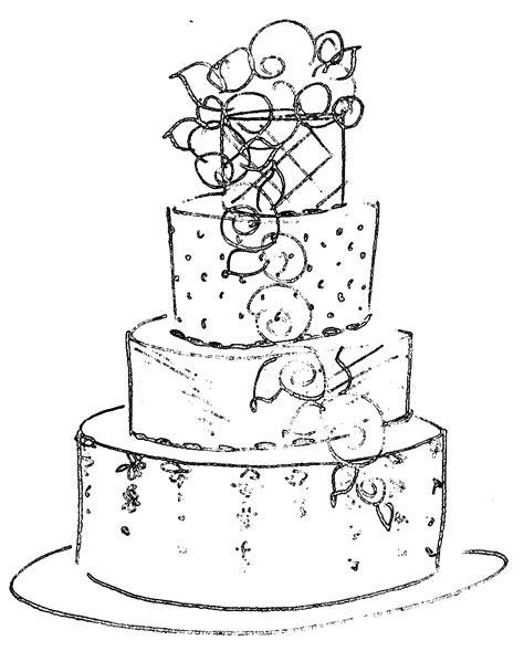 Hochzeitstorte Zeichnung by Post Your Wedding Cakes Weddingbee