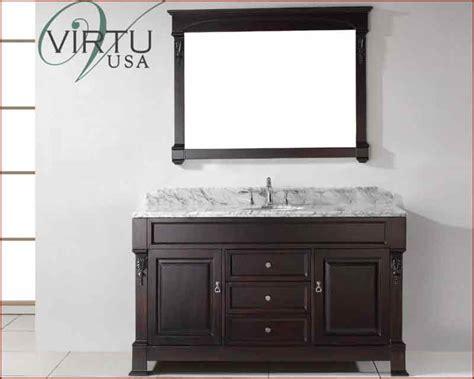 virtu usa 60 quot sink bathroom vanity huntshire vu gs