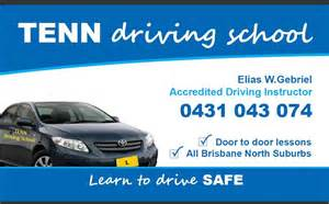 business cards for driving instructors tenn driving school in boondall brisbane qld driving