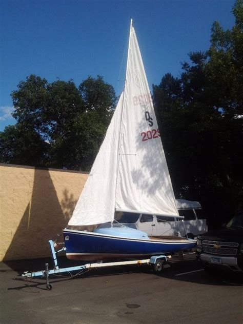 boats for sale maple grove mn vintage 1966 o day sailboat with 1971 trailer in maple