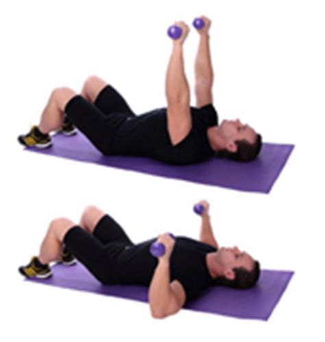 dumbell floor press archives home workout ideas