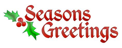 christmas clip art for email signatures seasons greetings
