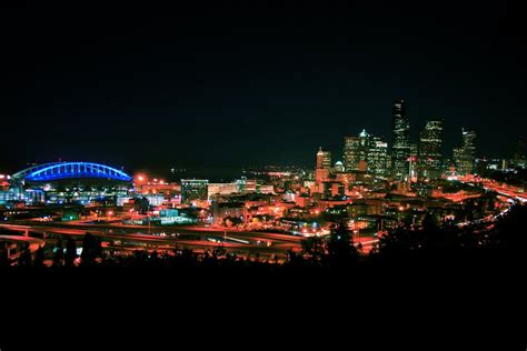 seattle nightlife map panoramio photo of downtown seattle at