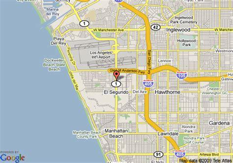 map los angeles lax map of homestead los angeles lax airport el segundo el