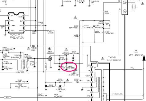 tv samsung quema transistor de horizontal 21fu1rk quema transistor de salida horizontal laboratorio electr 243 nico fallas electr 243 nicas